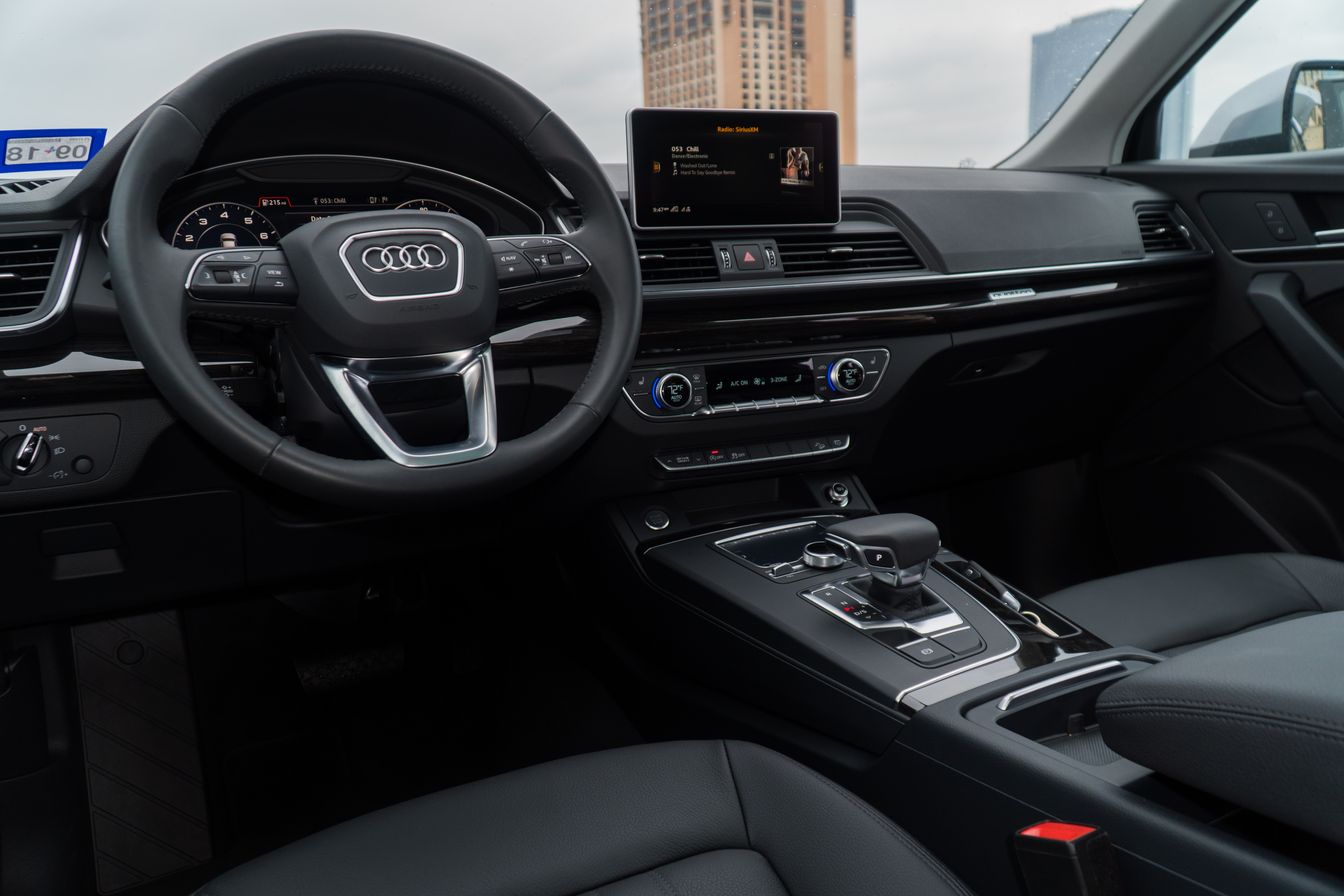 What Are The Interior Features Design Of The Audi Vehicles In The