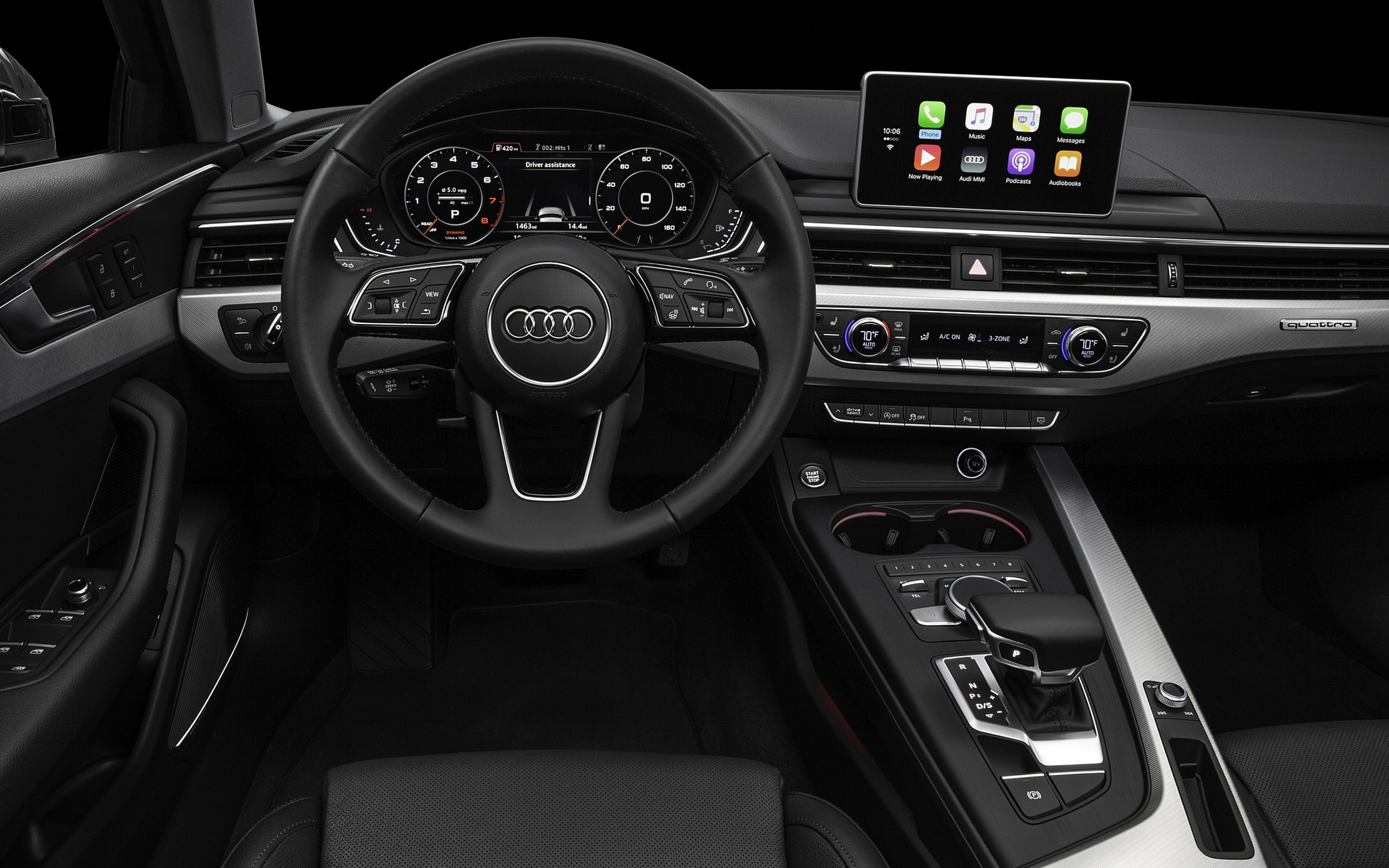 What Are The Interior Features Design Of 2017 Audi A4